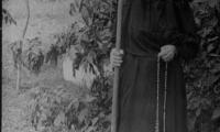 Матушка Серафима с посохом