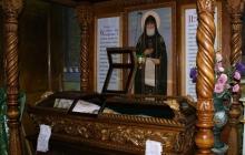 Рака и сень над святыми мощами преподобного Кукши