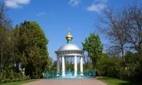 Водосвятная часовня на месте взорванного храма Успения Богородицы