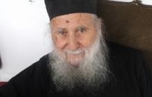 Старец Иосиф Ватопедский за месяц и три дня до своей кончины 2