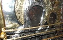 Ватопедская икона Божией Матери Провозвестительница на месте Ее грозного обращения к царевне Плакидии 1