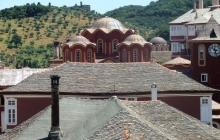 Ватопедские собор, башня и развалины Афониады