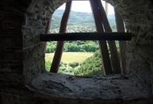 Вид из келии Ватопеда