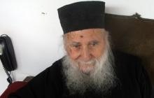 Старец Иосиф Ватопедский за месяц и три дня до своей кончины 1